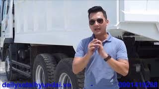xe ben 15 tấn daewoo 3 chân 15T thùng 10 khối - 0901419288 - 1 tỷ 545( chưa VAT )