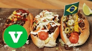 Brazilian Hot Dogs | Good Food Good Times World Cup 2014 Special