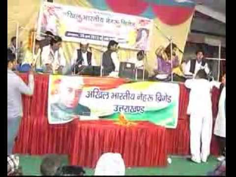 Qawwali Muqabla Hindi: Akhil Bhartiya Nehru Brigade By Qawwali Muqabla Part 6 video