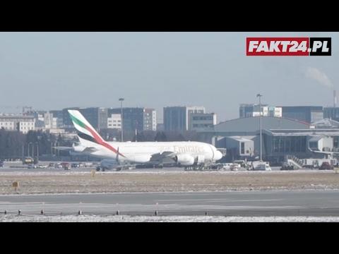 Airbus A380 W Warszawie!