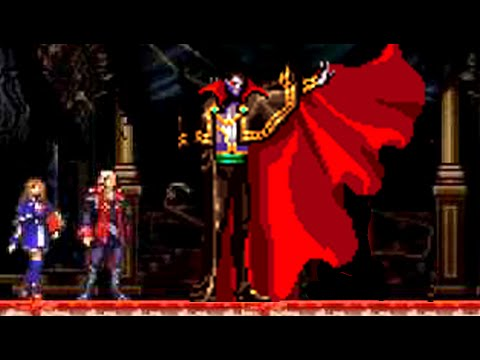 Castlevania Portrait of Ruin Final Boss Dracula and Death - No Damage&Subweapons