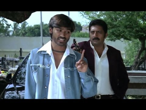 Dhanush Blackmails Prakash Raj - Thiruvilayadal Arambam video