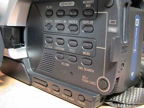 Sony DCR-TRV350 Digital8 camcorder review & test