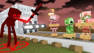 Monster School: EVIL VILLAIN ENDERMAN R.I.P MONSTERS - Minecraft Animation