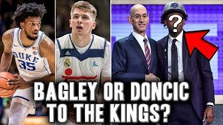 How The 2018 Draft Lottery Just Changed The Kings Future Drastically   Doncic Or Bagley?