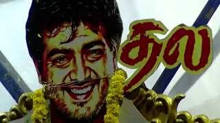 Ajith's Vedalam First day First Show – Director Shiva Watches the movie with Ajith fans