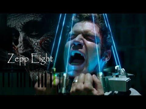 JIGSAW - Zepp Eight (HELLO ZEPP) SAW THEME Synthesia Piano Tutorial (100%) by Iwan Hoffman (2017)