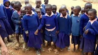 Kenyan Children's Response To Meeting White People For First Time