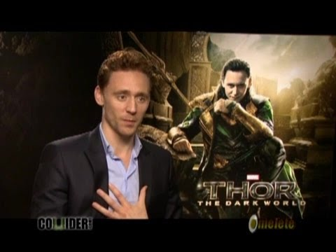 Tom Hiddleston Talks THOR 2, His Popularity Online, Solo LOKI Movie, CRIMSON PEAK, and More