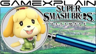 Super Smash Bros. Ultimate ANALYSIS -  Isabelle Reveal Trailer (Secrets & Hidden Details)