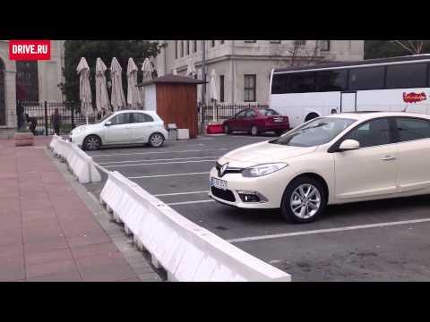 Renault Fluence 2013 — За кадром