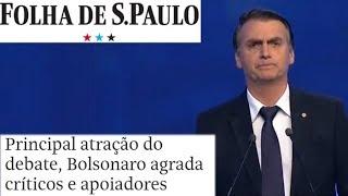 Bolsonaro saiu-se bem no debate da Band.