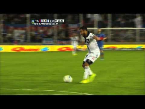 Quilmes venció a Tigre gracias a un polémico penal