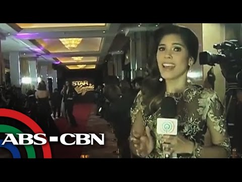 Stars arrive at the red carpet for the 8th Star Magic Ball