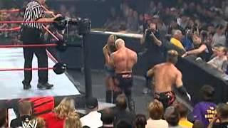 WWE Unforgiven 2003 - Test (with Stacy Keibler) vs Scott Steiner
