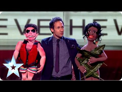 Steve Hewlett's ventriloquist act with some special guests | Final 2013 | Britain's Got Talent 2013