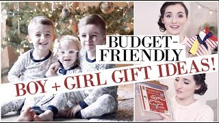 WHAT I GOT MY KIDS FOR CHRISTMAS (on a budget!) | Last Minute Gift Ideas for Preschool + Toddler Age