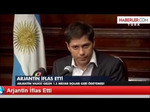 Argentina Went Bankrupt..!!!! NEW 1.8.2014