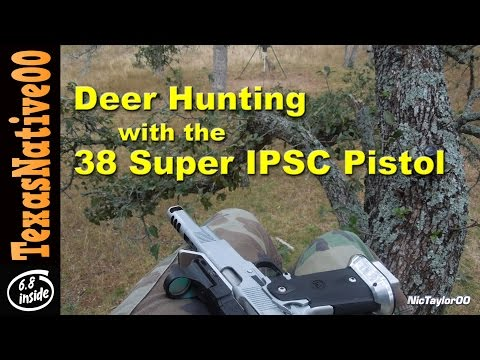 Deer Hunting with an IPSC Race Pistol