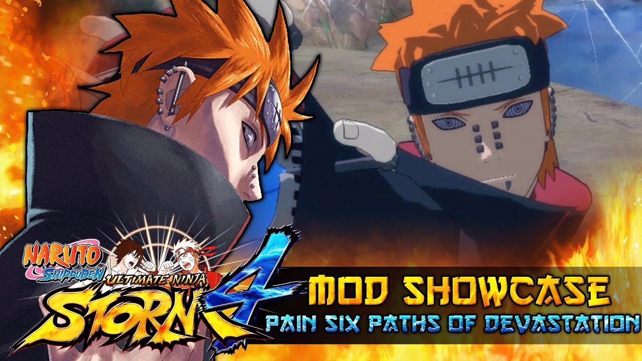 Six paths of pain naruto