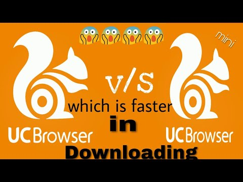 Uc browser or Uc mini which one is faster in downloading #1