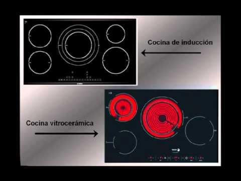 Cocina vitrocer mica inducci n o gas consejos rentabilidad pros y contras gr ficos - Cocina de induccion ...