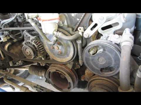 1991 Mazda Miata Restoration Timing Belt part 1