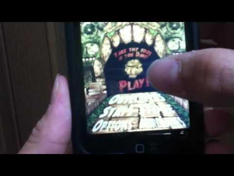 ipod touch オススメ無料アプリ 「Temple Run」