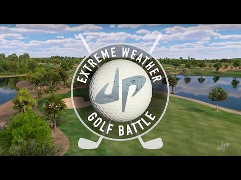 Extreme Weather Golf Battle | Dude Perfect