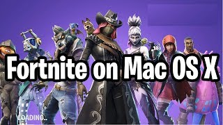 How to Install Fortnite on Mac OS X