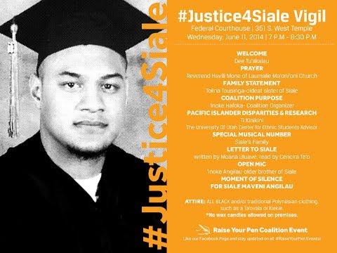 #Justice4Siale Vigil