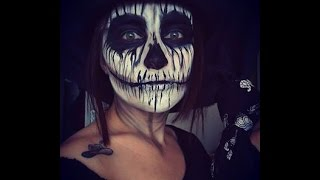 Skeleton Makeup Halloween / İskelet Makyajı