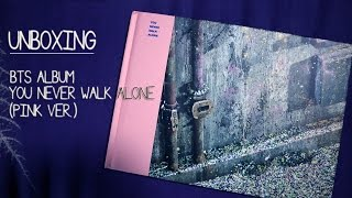 [UNBOXING] BTS - YOU NEVER WALK ALONE ALBUM (PINK / RIGHT VER.)