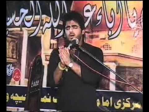 Syed Ahsan Raza Meri Sakina Soja (in Markazi Imam Bargah Chichawatn On 21 Ramzan 2011) video