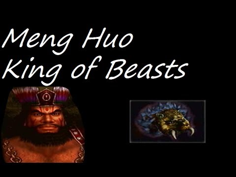 Let's Play Dynasty Warriors 4 #97 - Meng Huo Level 10 Weapon - King of Beasts
