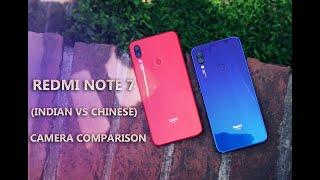 Xiaomi Redmi Note 7 Chinese VS Indian Camera Comparison In Bangla | Techtuber