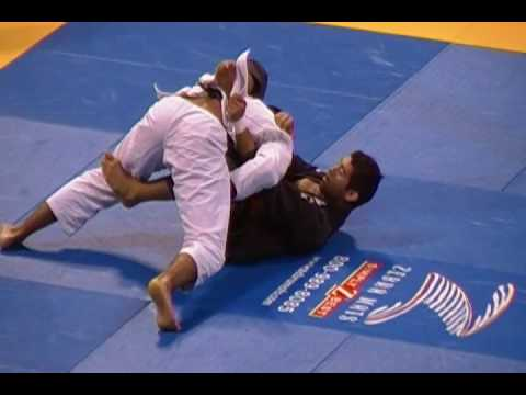 Bernardo Faria Deep Half-Guard sweep Image 1