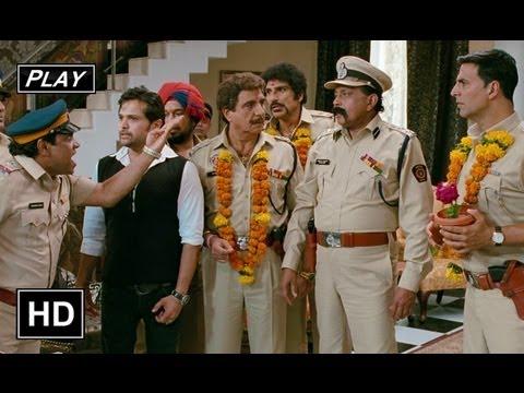 Inspector Kambli Reveals TTs Truth - Khiladi 786