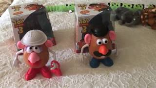 Unboxing of Mr. and Mrs. Potato Head from Toy Story