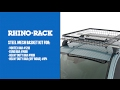 Steel Mesh Basket Installation | Rhino-Rack