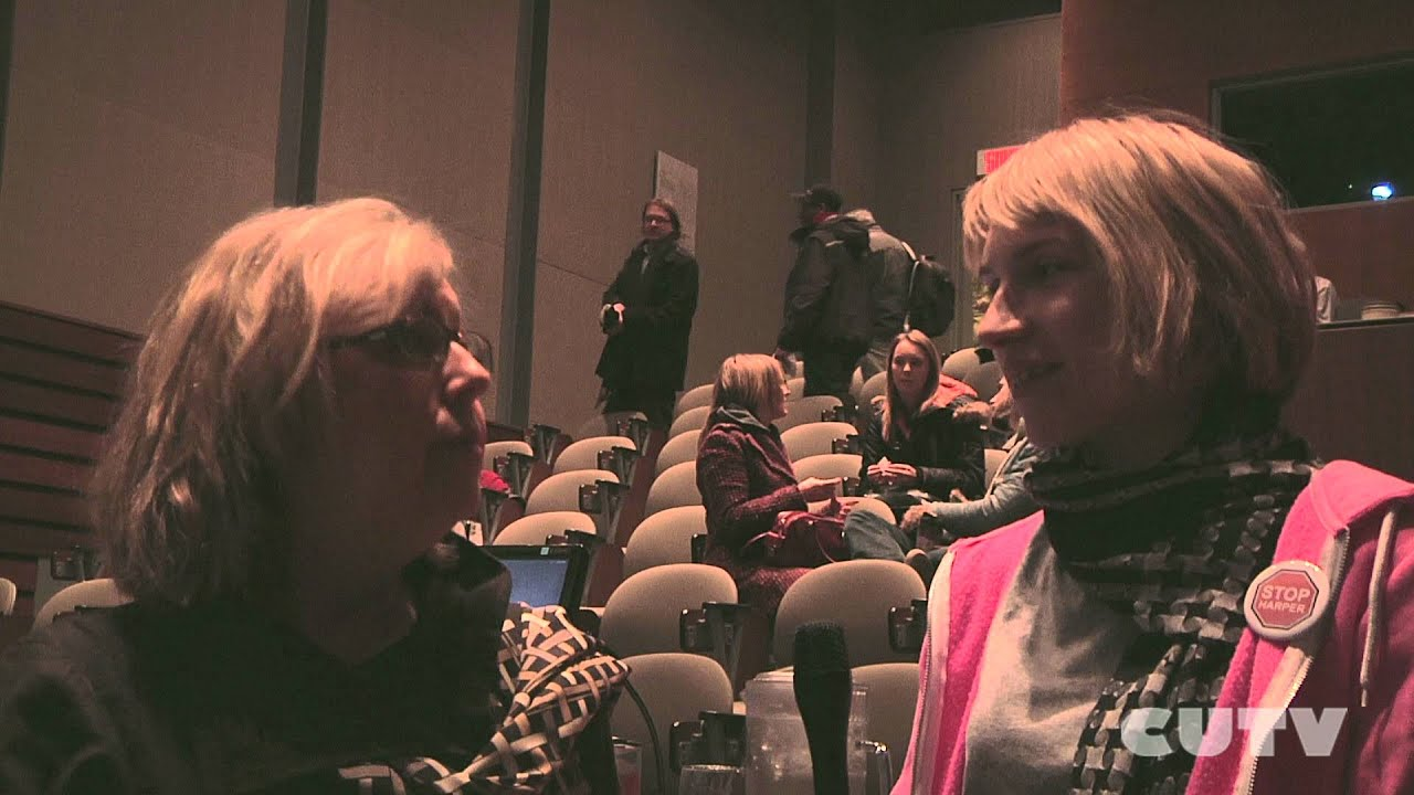 Elizabeth May Visits Concordia