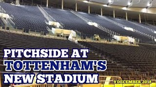 PITCHSIDE AT TOTTENHAM?S NEW STADIUM: The Players View of the South Stand - 9 December 2018