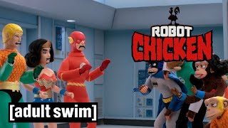 Robot Chicken DC Comics Special III | Broken Multiverse | Adult Swim UK 🇬🇧
