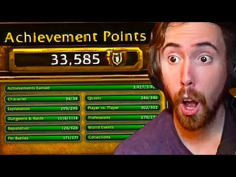 Asmongold SHOCKED By Player Who Completed ALL Achievements In World of Warcraft