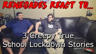 3 Creepy True School Lockdown Stories - REACTION!