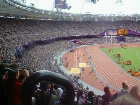 Jessica Ennis Long Jump London 2012 Olympics-A view from the stands!!!