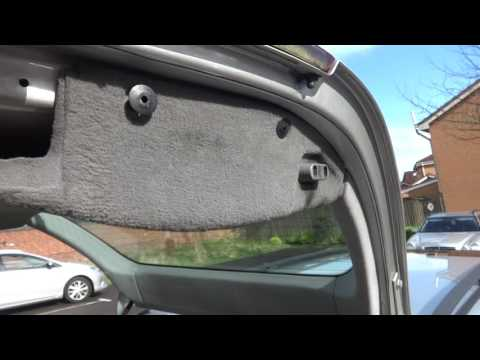 Mercedes w210 estate wagon door trim removal