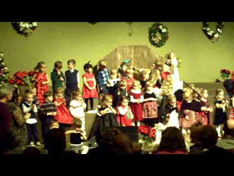 Christmas performance Bookcliff Christian School 2009-2