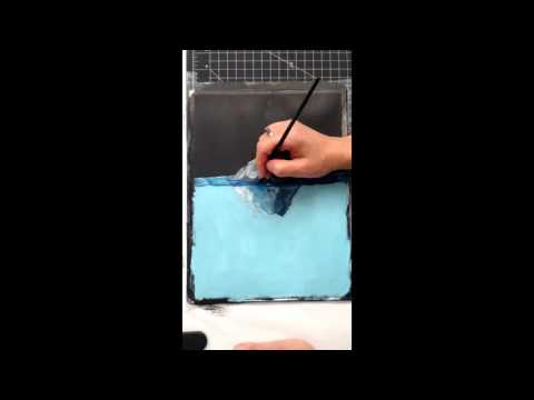 Secret Iceberg Painting Party
