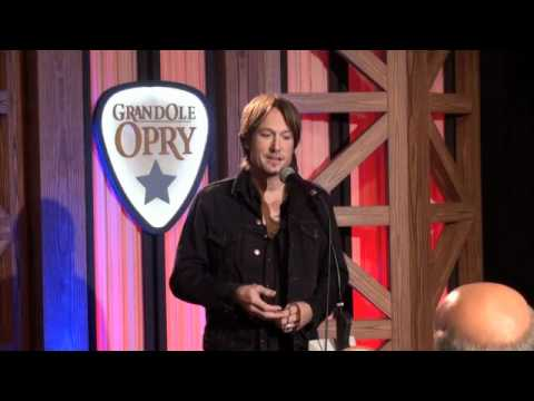 Preview of Keith Urban Backstage at his Opry Induction